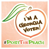 #PostThePeach campaign